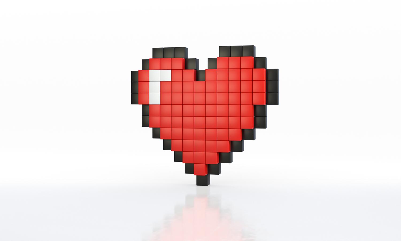 heart 8bit_cornice